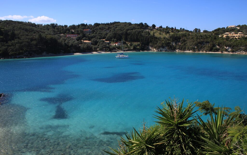 Paxos, Paxi, Lakka, Ionian Sea, Greece