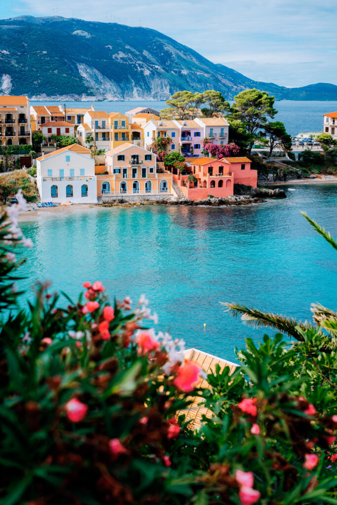 Assos village Kefalonia Ionian islands Greece