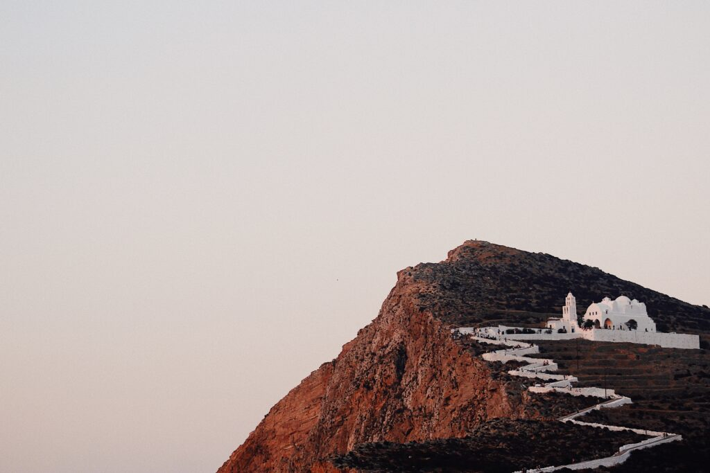 Travel to Folegandros, Cyclades, Greece - Church of Panagia - Photo by Chris Ouzounis