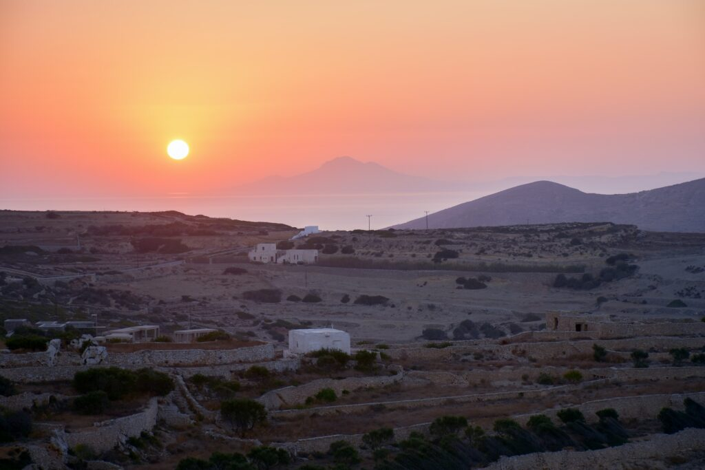 Travel to Folegandros, Cyclades, Greece - Sunset - Photo by Henry Lim