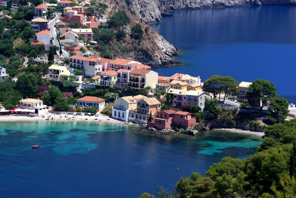 Holiday Kefalonia, Greece - Asos Bay