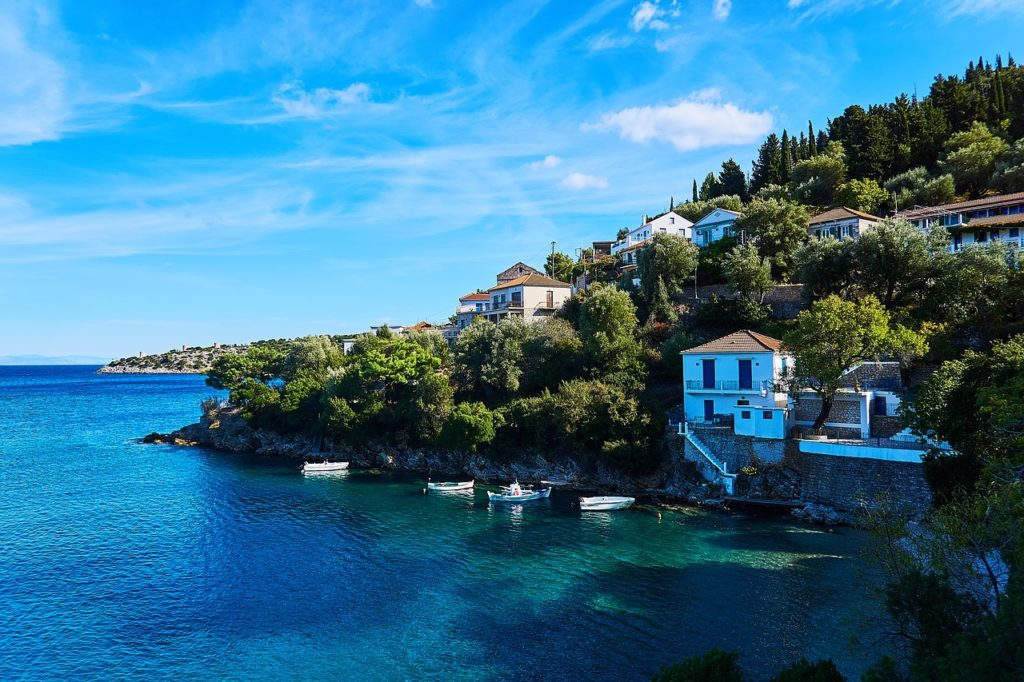 Travel to Ithaca, Ionian Sea, Greece