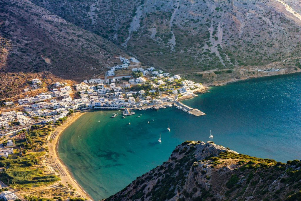 Travel to Sifnos, Cyclades, Greece - Kamares