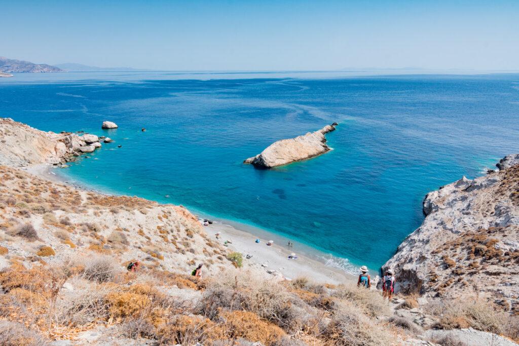 Katergo beach, Folegandros, Cyclades, Greece