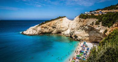 Travel to Lefkada, Greece - Katsiki Beach