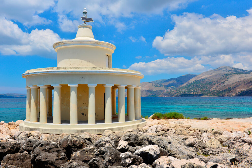Lighthouse of St Theodore at Argostoli Kefalonia Greece