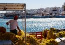 Travel to Paros, Greece - Naousa habor