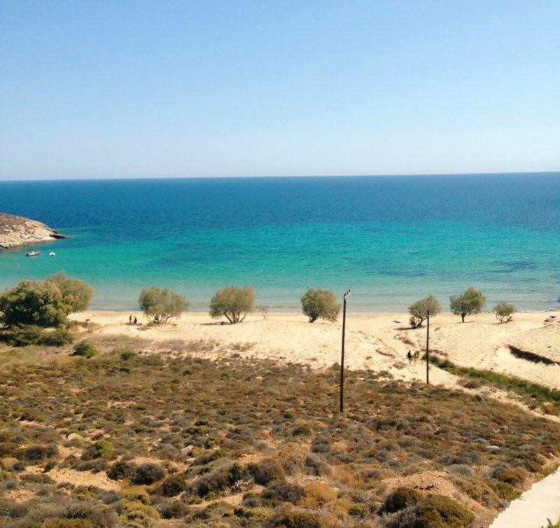 View over Serifos beach, Cyclades, Greece