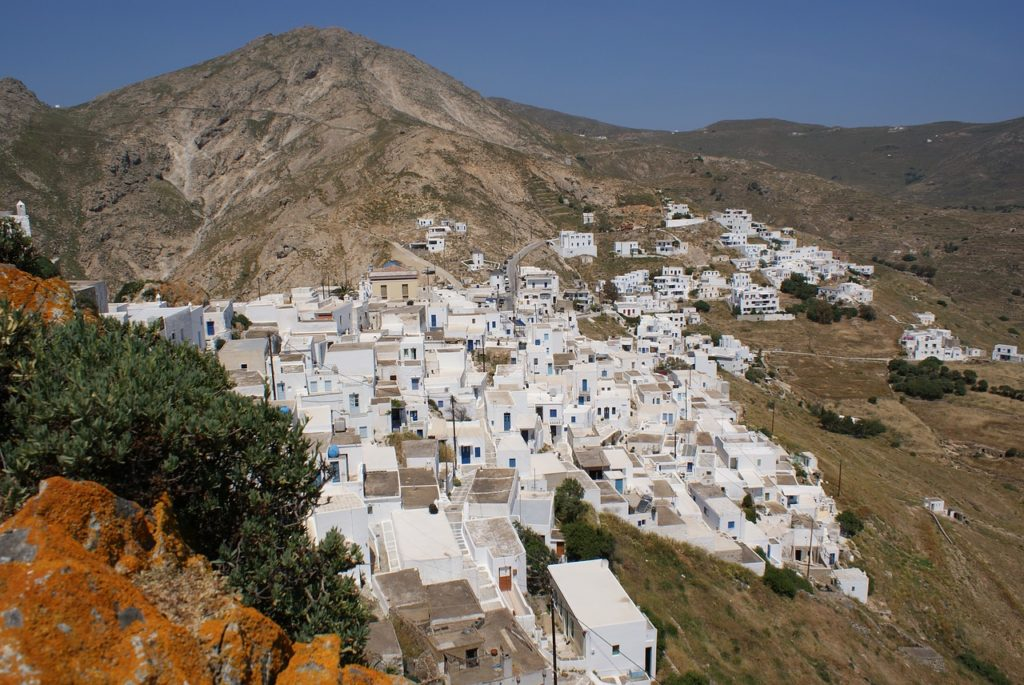 Travel to Serifos, Greece