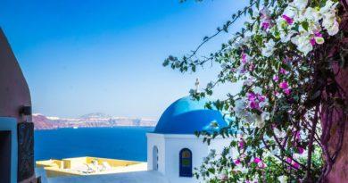 Travel to Santorini, Greece