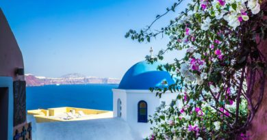 Travel to Santorini, Cyclades Islands, Greece
