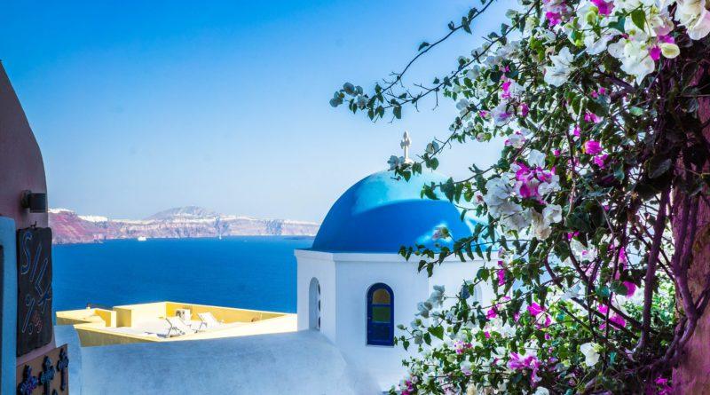 Travel to Santorini, Cyclades Islands, Greece