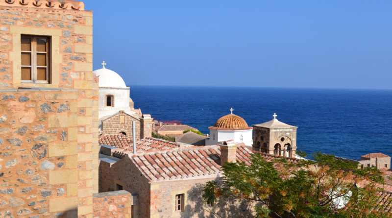 Monemvasia, Peleponnese, Greece