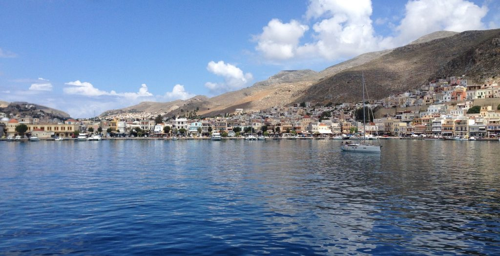 Port of Kalymnos, Dodecanese, Greece