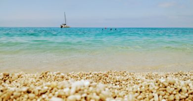 Holiday in Kefalonia, Greece - Myrtos Beach