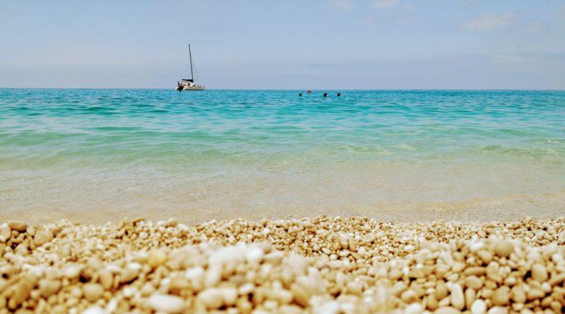 Holiday in Kefalonia, Greece - Myrtos Beach
