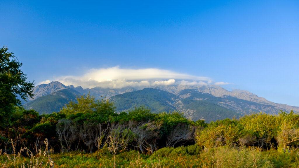 travel to Samothrace, Greece - Mount Feggari