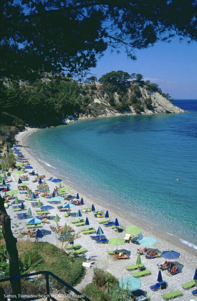 Travel to Samos, Greece - Tsamadou Beach