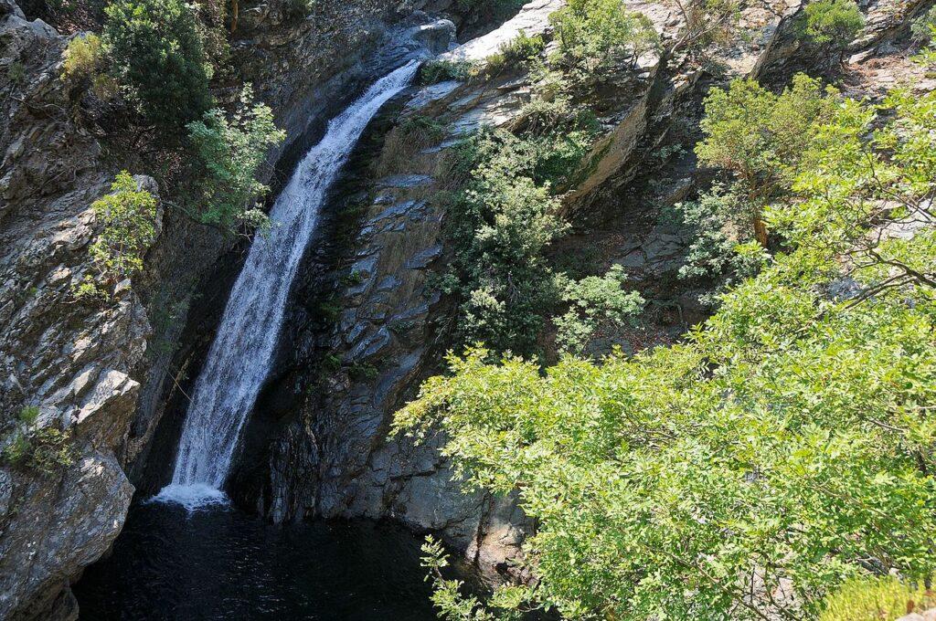 Travel to Samothrace - Fonias Waterfall - Photograph by G. Salaveris