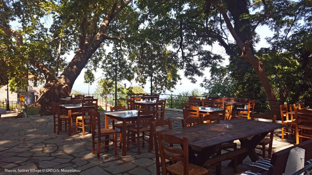 Travel to Thassos, Greece - Sotiras village