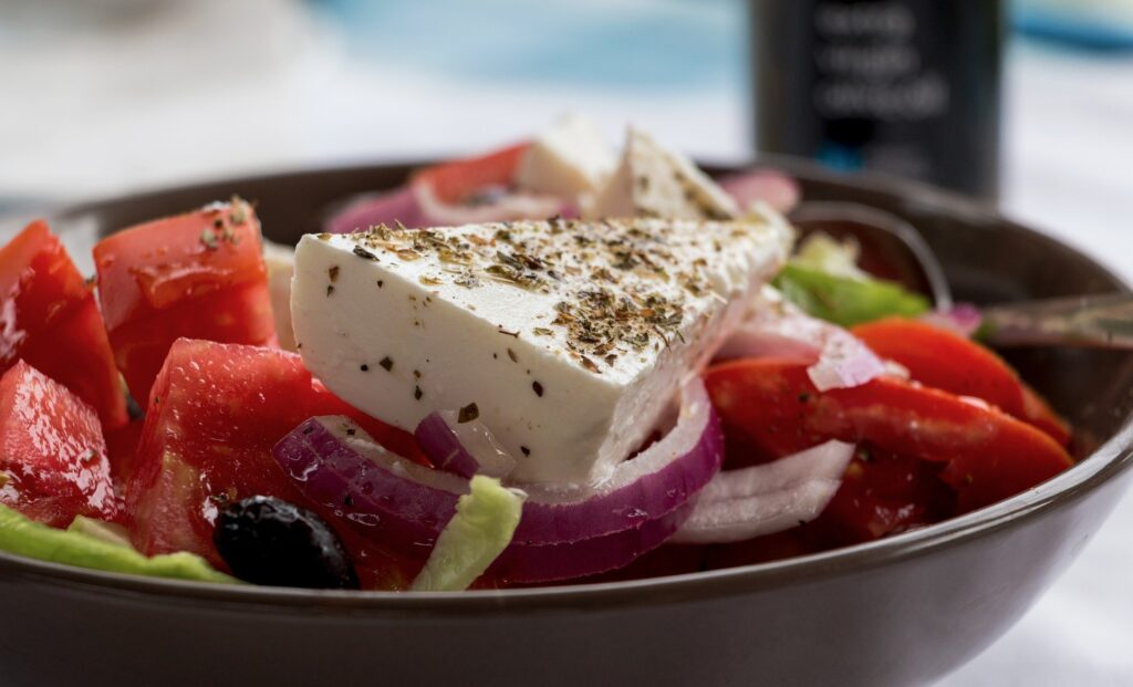 holidays in Greece - greek salad