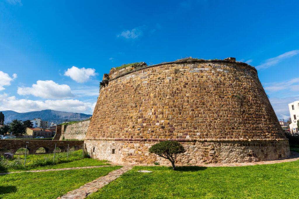 Castle of Chios in Chios island, North Aegean Sea Greece