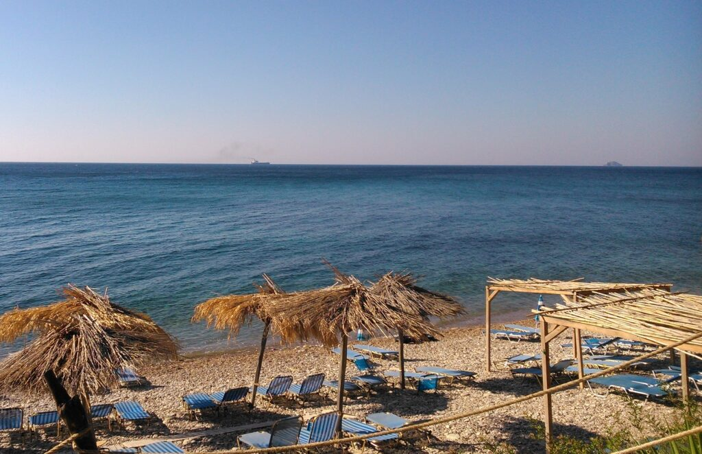 Travel to Chios, Northern Aegean Islands, Greece - beach