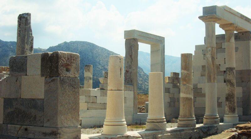 Delos ruins, Cyclades Greece