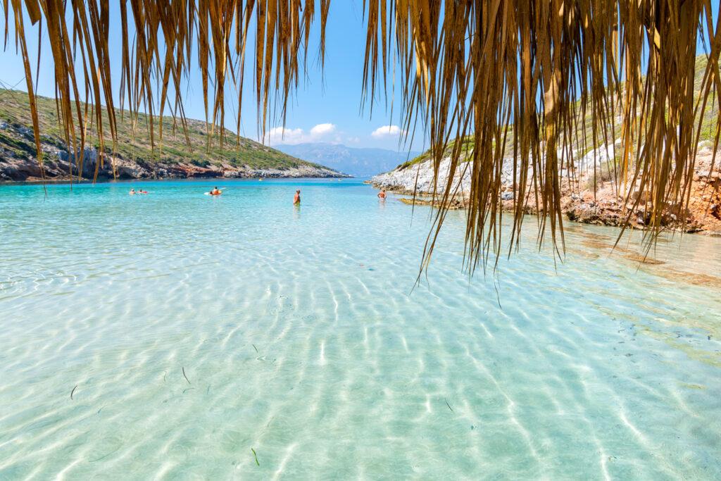 Livadaki beach, Samos island, Aegean Sea Greece