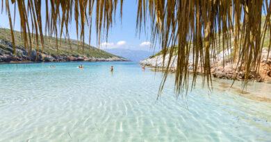 Travel to Samos island, Greece - Livadaik beach
