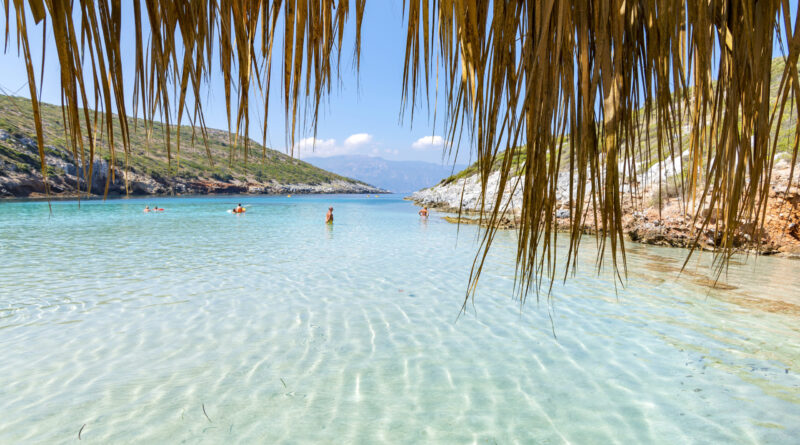 Travel to Samos island, Greece - Livadaik beach