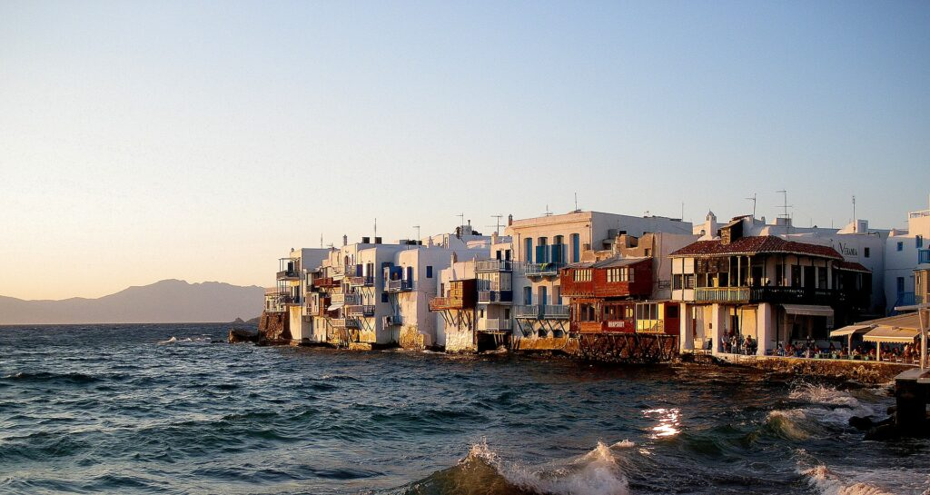 Little Venice, Mykonos, Cyclades Greece