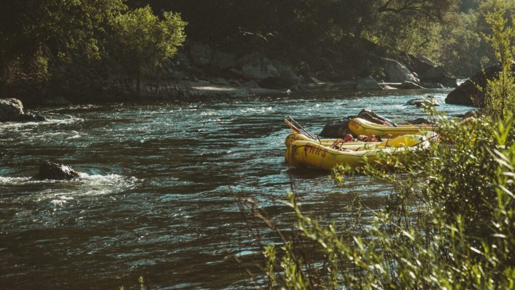 River rafting in Greece