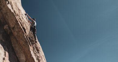Rock climbing in Kalymnos, Greece
