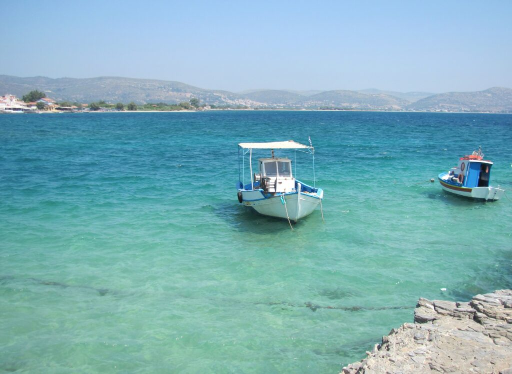 Travel to Samos, Greece