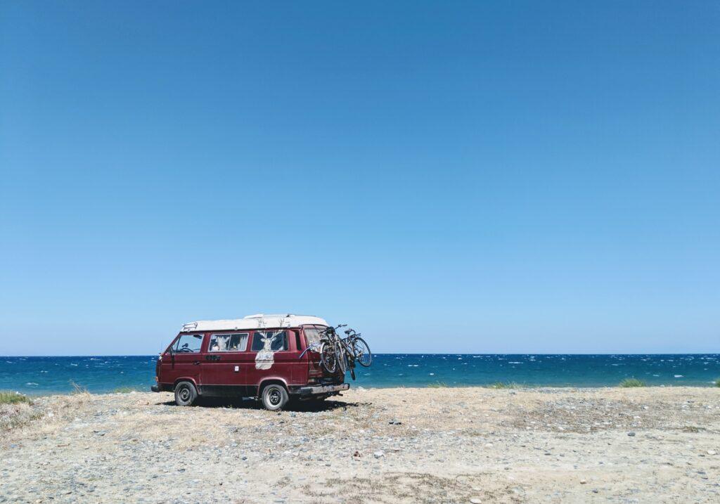 Travel to Samothrace, Greece - Road trip to beach