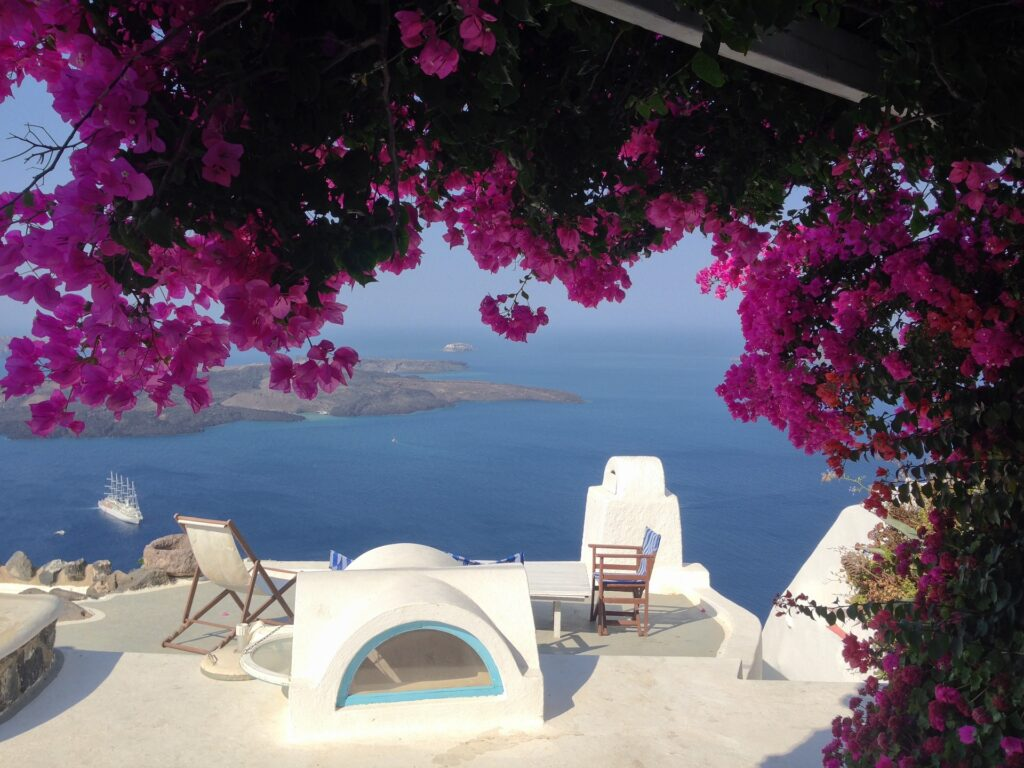 Oia on Santorini, Cyclades Greece
