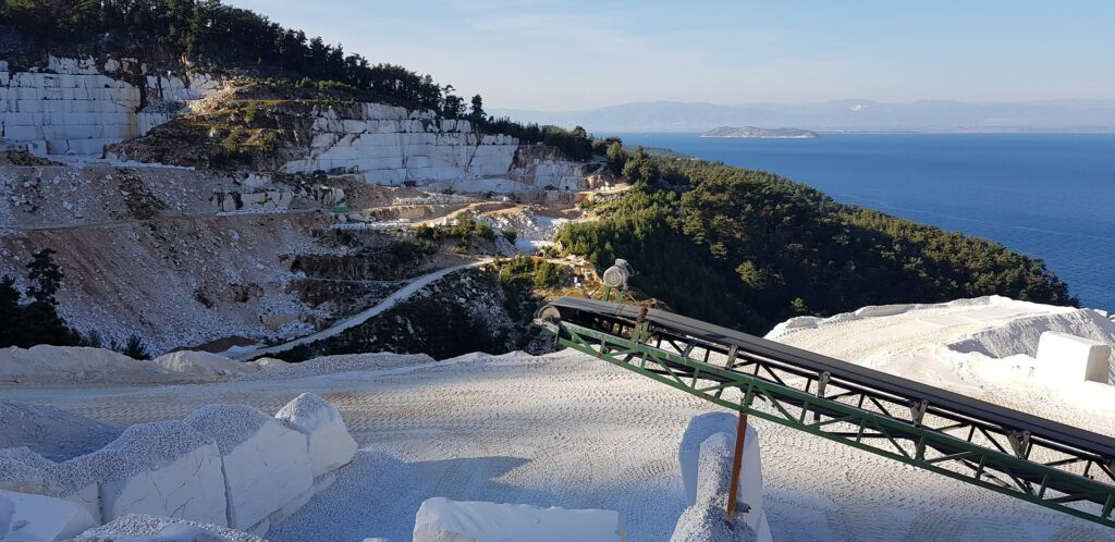 Travel to Thassos, Northern Aegean, Greece - Thassos marble