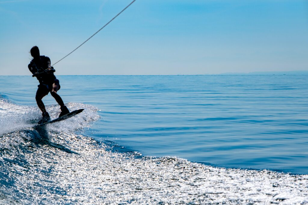 Water ski in Greece - Photo by Michael Kucharski
