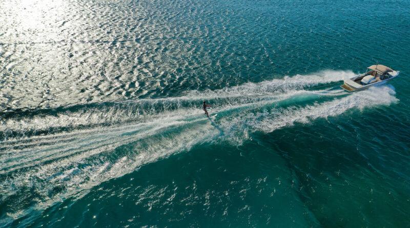 water ski and aqua-plane in greece