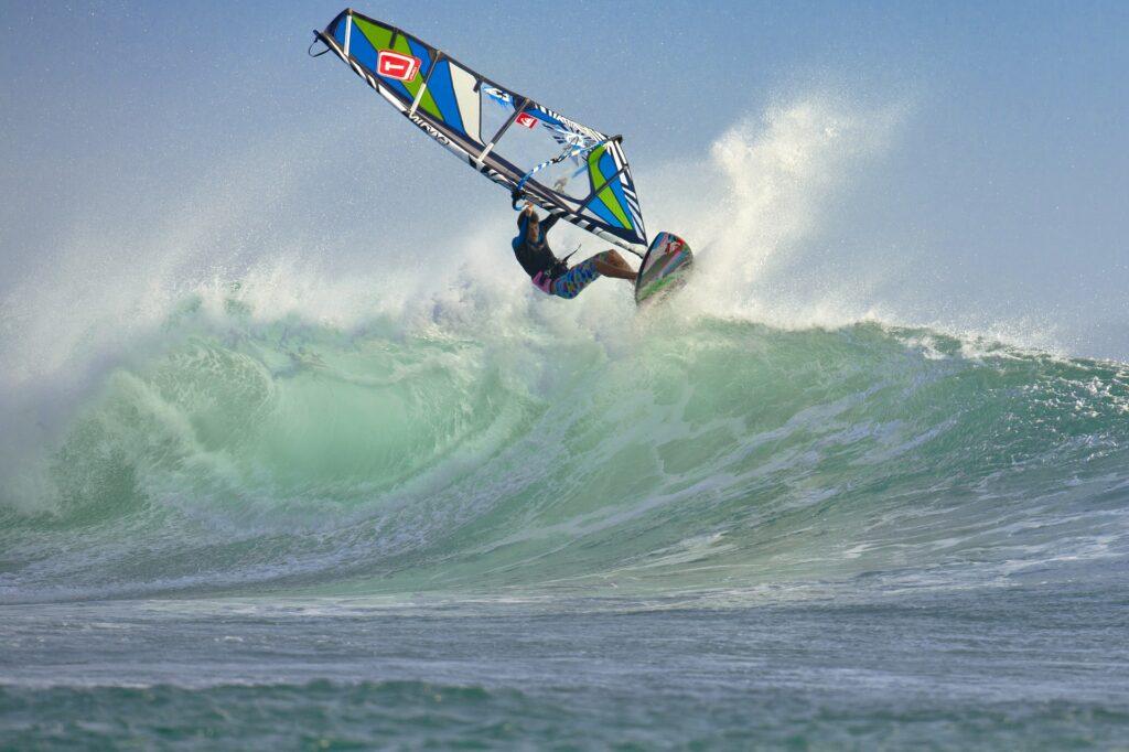 Windsurfing in Greece