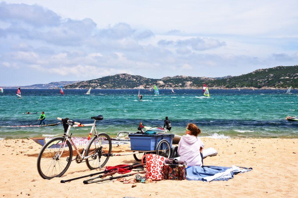 Biking in the Greek islands