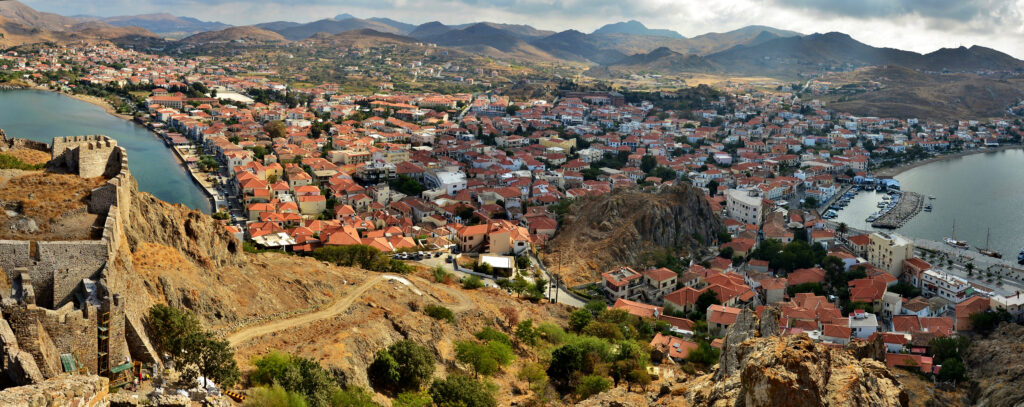 Lemnos, Greece - Myrina, view from the castle