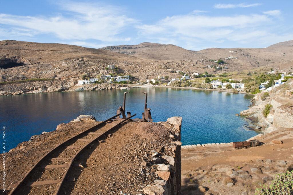 Travel to Serifos, Cyclades, Greece - Megalo Livadi mines - Photo by Y. Skoulas