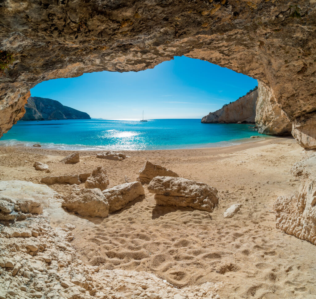 Porto Katsiki beach, Lefkada, Ionian Sea, Greece