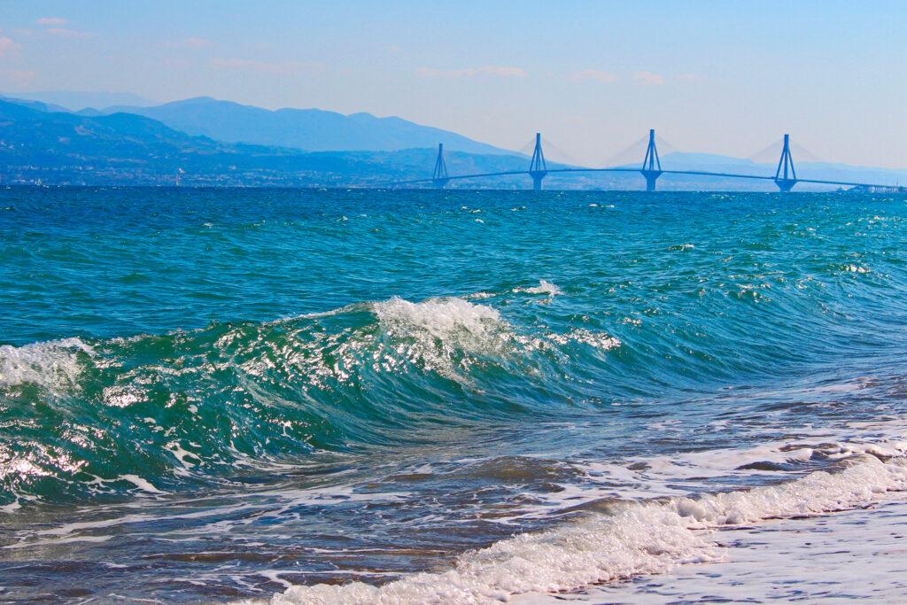 Travel to the Corinthian Gulf in Greece - Bridge Rio-Antirrio
