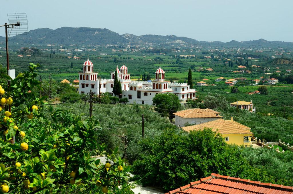 Monastery Eleftheotria in Macherado village, Zakynthos island Greece