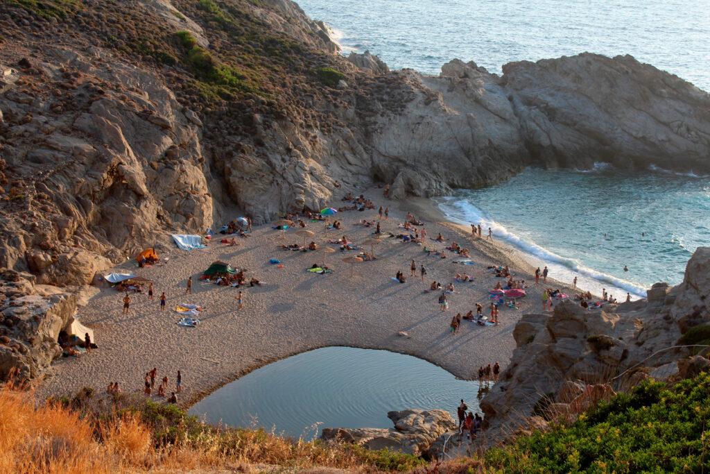 Nas beach, Ikaria, North Aegean Sea Greece
