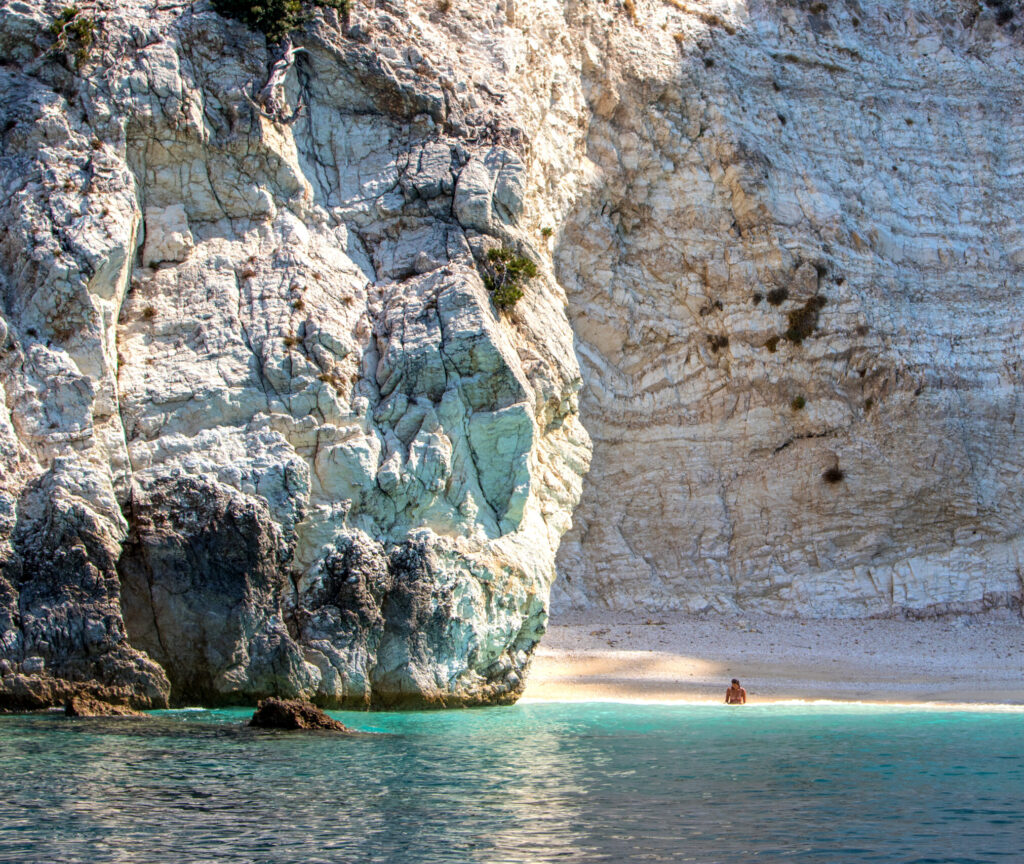 Travel to Chios, Greece - secluded beach