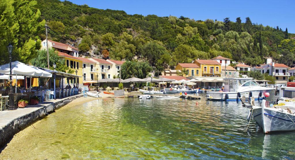 Travel to Ithaca, Greece - Kioni port